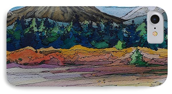 Small Sunriver Scene Phone Case by Terry Holliday
