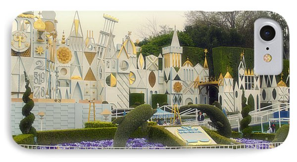 Small World Fantasyland Disneyland 01 IPhone Case by Thomas Woolworth