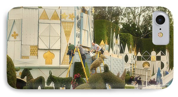 Small World Fantasyland Disneyland 02 IPhone Case by Thomas Woolworth