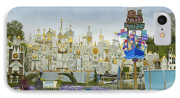 Small World Fantasyland Disneyland Panorama IPhone Case by Thomas Woolworth