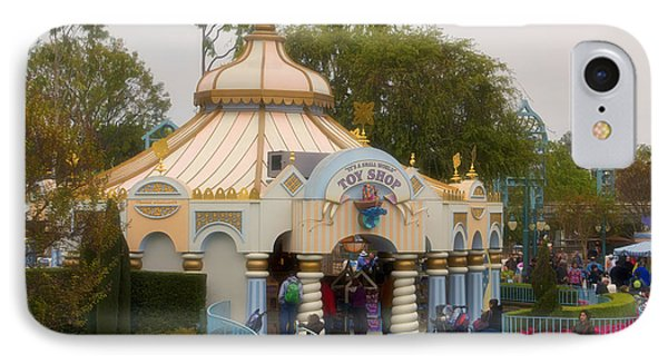 Small World Toy Shop Fantasyland Disneyland IPhone Case by Thomas Woolworth