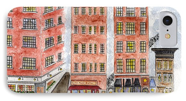 Small's Jazz Club On West 10th Street IPhone Case by AFineLyne
