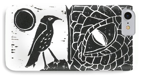 Smaug And The Thrush IPhone Case