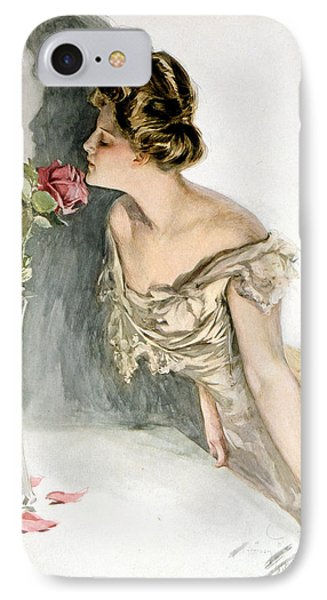 Smelling The Roses Phone Case by Harrison Fisher