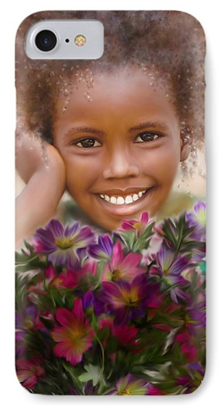 Smile 2 Phone Case by Kume Bryant