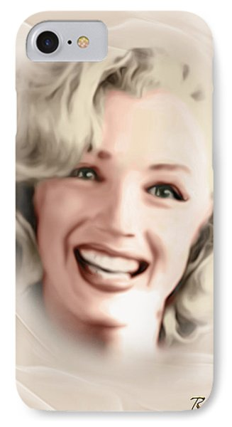 Smile Of A Goddess IPhone Case by Giada Rossi