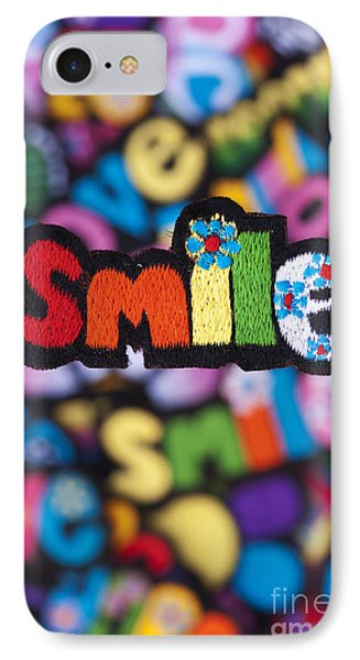 Smile IPhone Case by Tim Gainey