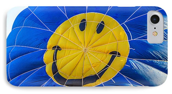 Smiley Balloon IPhone Case by Robert Bales