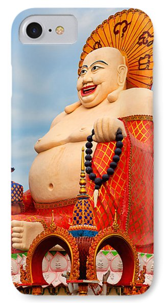 smiling Buddha Phone Case by Adrian Evans