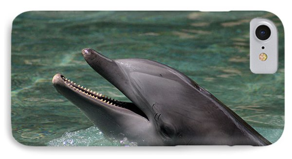 Smiling Dolphin IPhone Case by Pamela Walton
