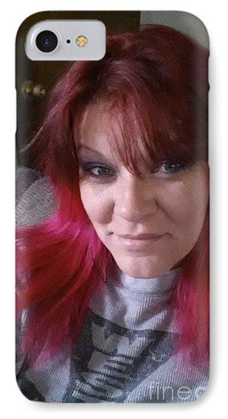 Smiling Eyes IPhone Case by Angela Pelfrey
