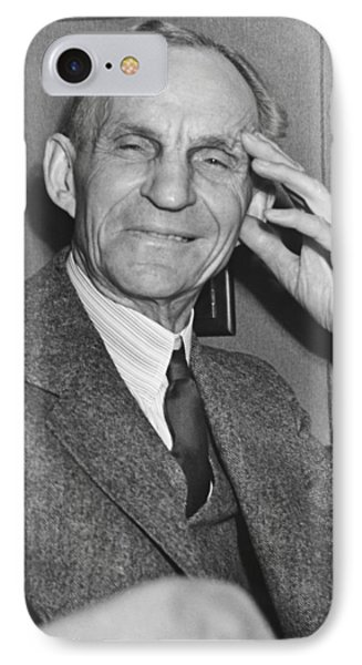 Smiling Henry Ford IPhone Case