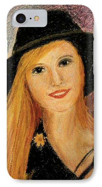 Smiling Young Lady  IPhone Case