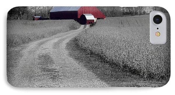 Smithsburg Barn IPhone Case by Robert Geary