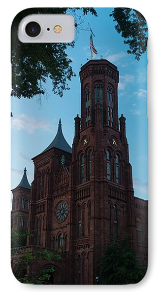 Smithsonian Castle Dawn IPhone Case