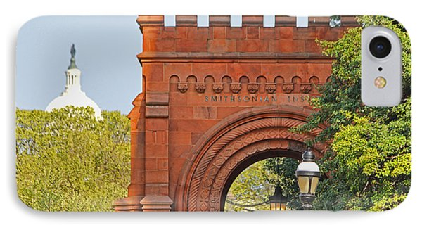 Smithsonian Entrance 1136 IPhone Case