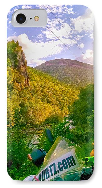 Smoke Hole Canyon IPhone Case by Jeff Kurtz