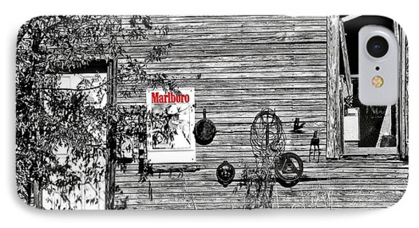Smoke House IPhone Case by Pattie Calfy