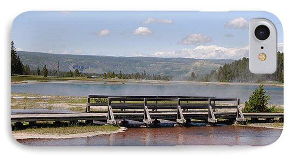 Smoke On The Water IPhone Case by Mary Carol Story