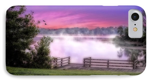 IPhone Case featuring the photograph Smoke On The Water by Mary Timman