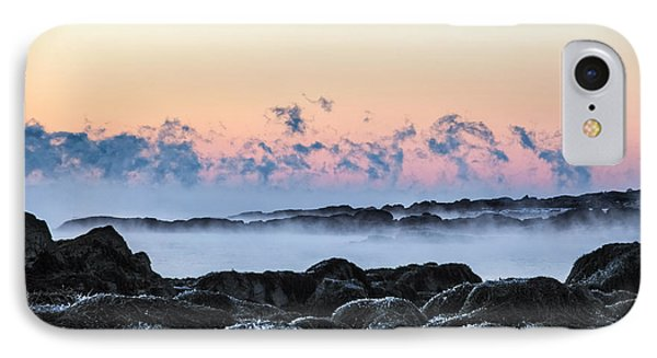 Smoke On The Water IPhone Case by Robert Clifford