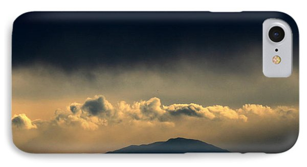 IPhone Case featuring the photograph Smoke Signals by Silke Brubaker