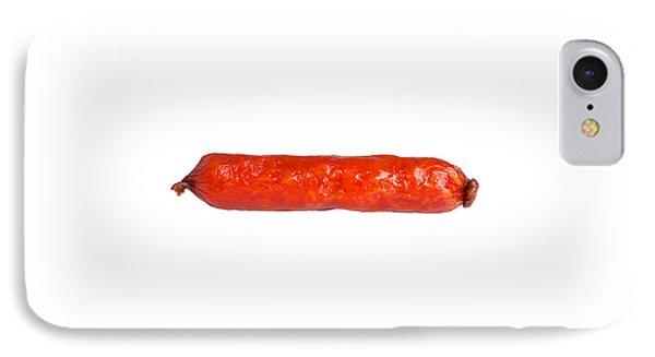 Smoked Sausage Isolated Phone Case by Aleksey Tugolukov