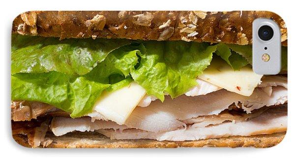 Smoked Turkey Sandwich IPhone Case by Edward Fielding