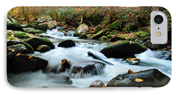 Smokey Mountain Creek IPhone Case by Donald Fink