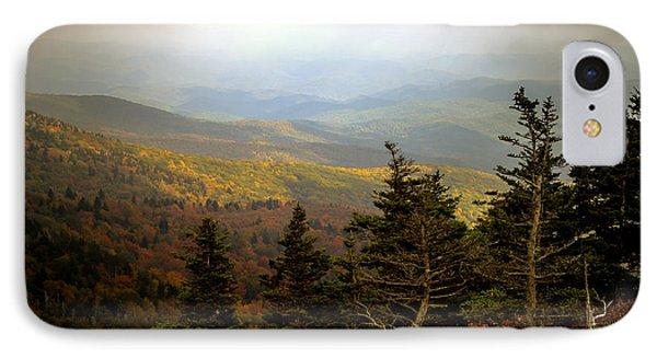 Smokey Mountain High Phone Case by Karen Wiles