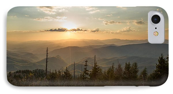 Smokies In Spring IPhone Case by Doug McPherson