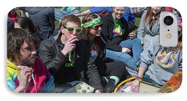 Smoking Marijuana IPhone 7 Case by Jim West
