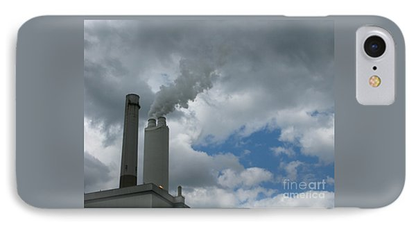 Smoking Stack Phone Case by Ann Horn