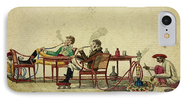 Smoking The Hooka IPhone Case by British Library