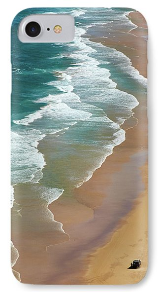 Shore iPhone 7 Case - Smoky Cape by Robert Oates