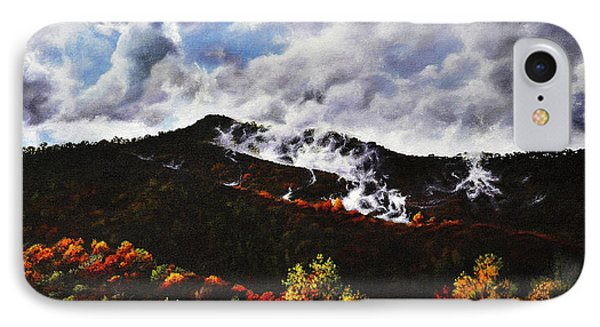 Smoky Mountain Angel Hair IPhone Case by Craig T Burgwardt