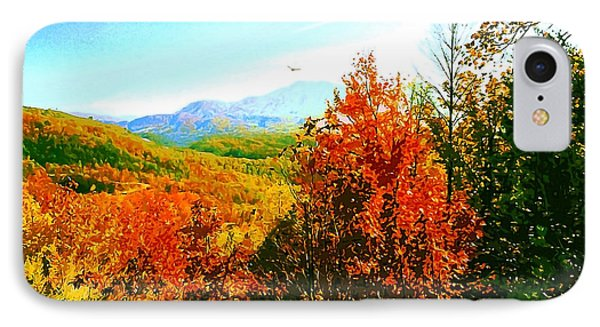 Smoky Mountain Autumn IPhone Case by CHAZ Daugherty