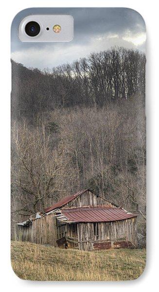 Smoky Mountain Barn 1 IPhone Case by Douglas Barnett