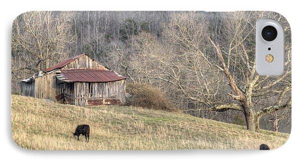 Smoky Mountain Barn 3 IPhone Case by Douglas Barnett