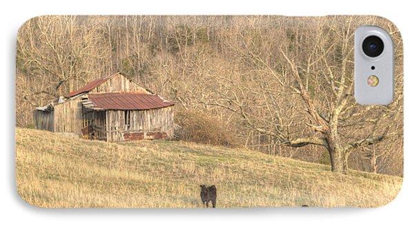Smoky Mountain Barn 8 IPhone Case by Douglas Barnett