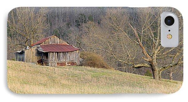 Smoky Mountain Barn 9 IPhone Case by Douglas Barnett