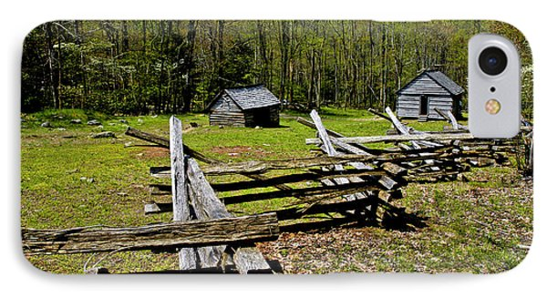 Smoky Mountain Cabins Phone Case by Paul W Faust -  Impressions of Light