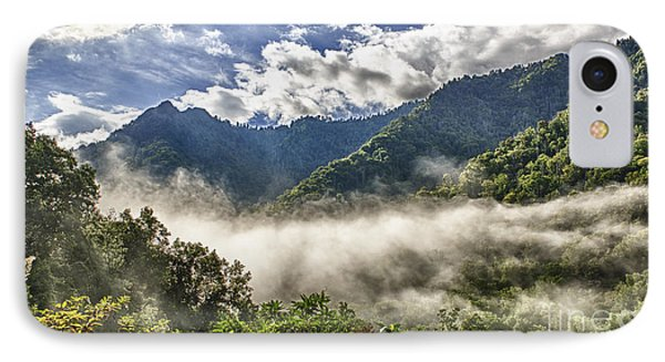 Smoky Mountain Chimney Tops IPhone Case