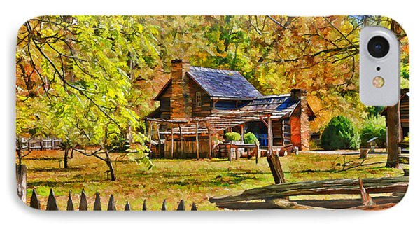 IPhone Case featuring the photograph Smoky Mountain Homestead by Kenny Francis