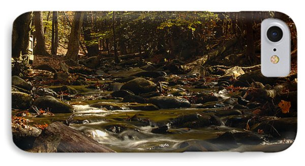 Smoky Mountain Stream IPhone Case by Patrick Shupert