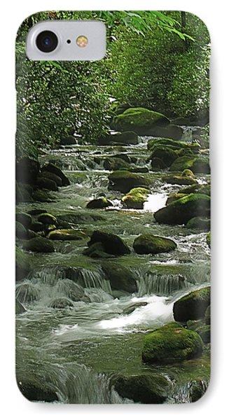 Smoky Mountain Stream IPhone Case by Rita Mueller