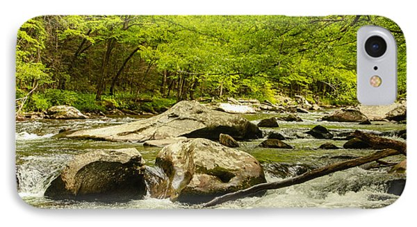 Smoky Mountain Stream IPhone Case by Robert Hebert