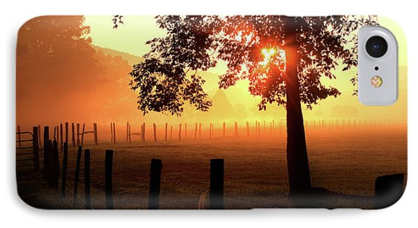 Smoky Mountain Sunrise IPhone Case