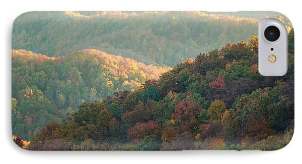 Smoky Mountain View IPhone Case by Patrick Shupert