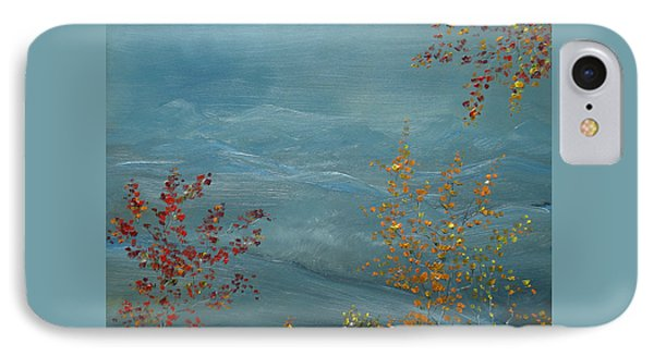Smoky Mountains In Autumn Phone Case by Judith Rhue
